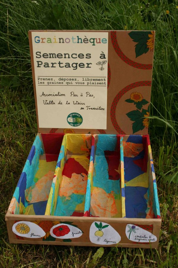 La Grainothèque de la vallée de la Weiss : partageons les semences de nos jardins !