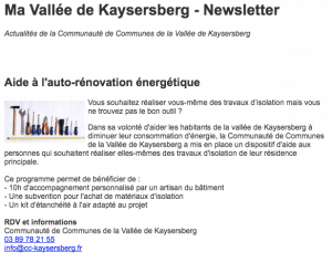 Info Kaysersberg