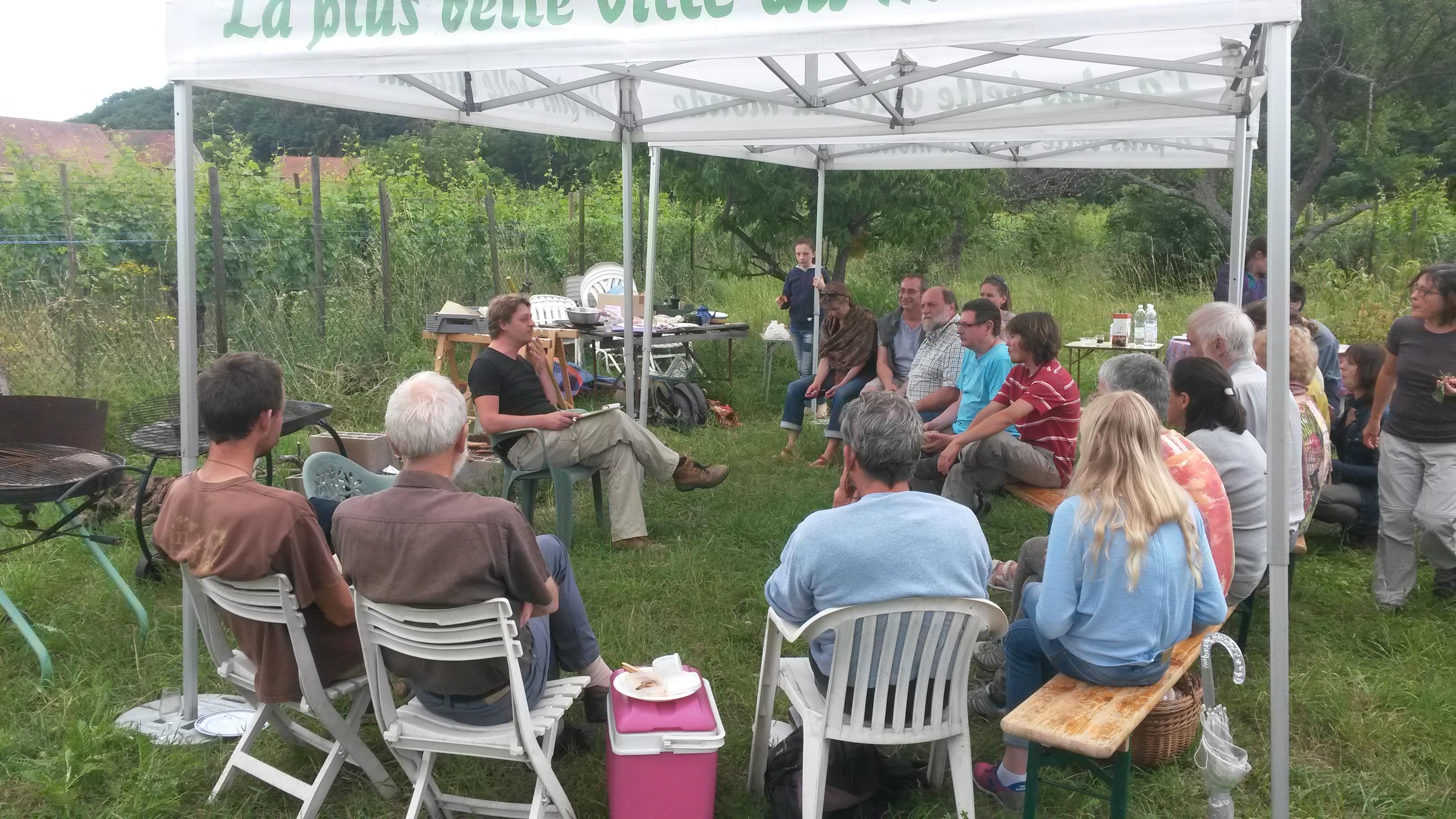 Jardin Partagé réunion 13 juin 2015