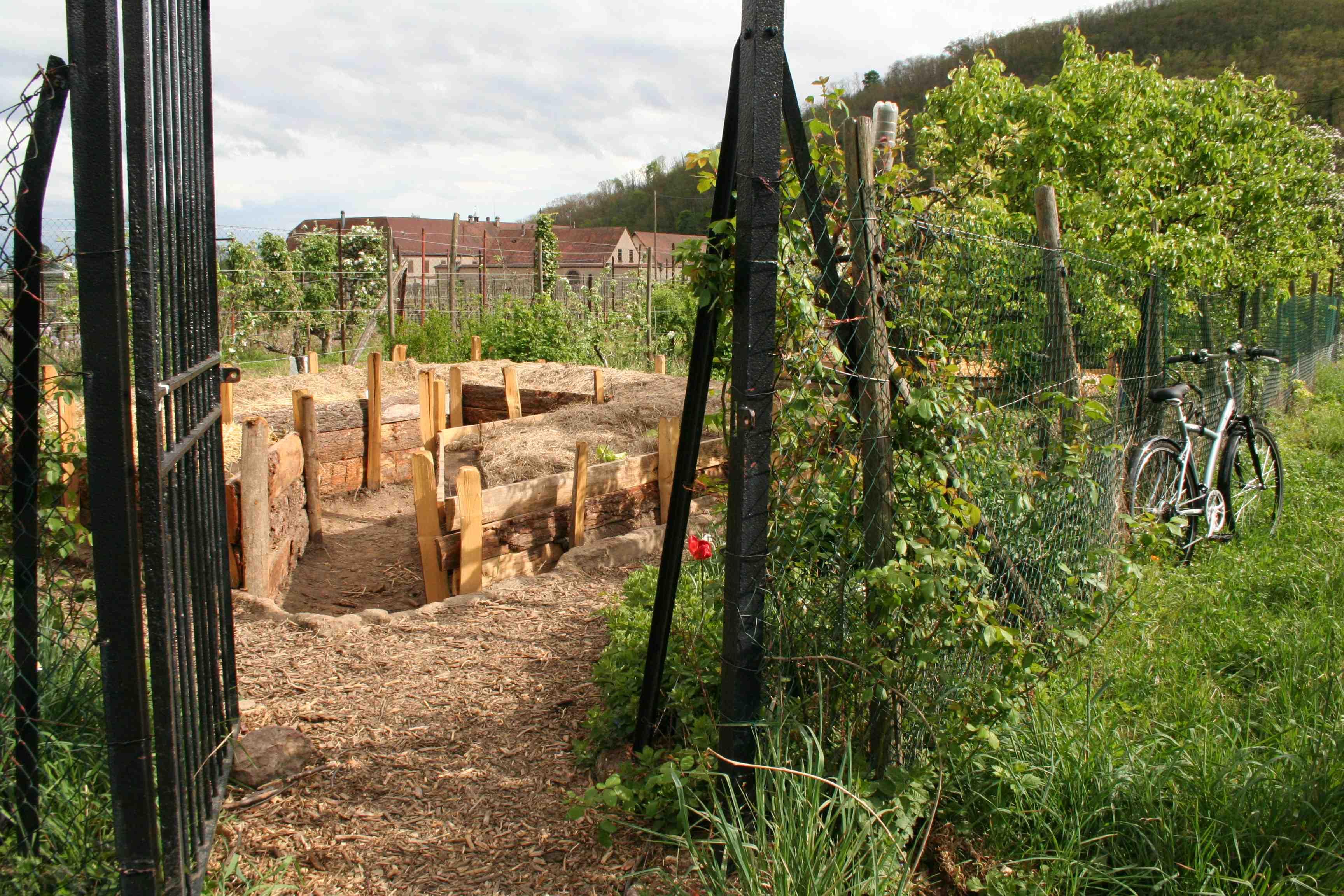 Jardin Partagé Entrée