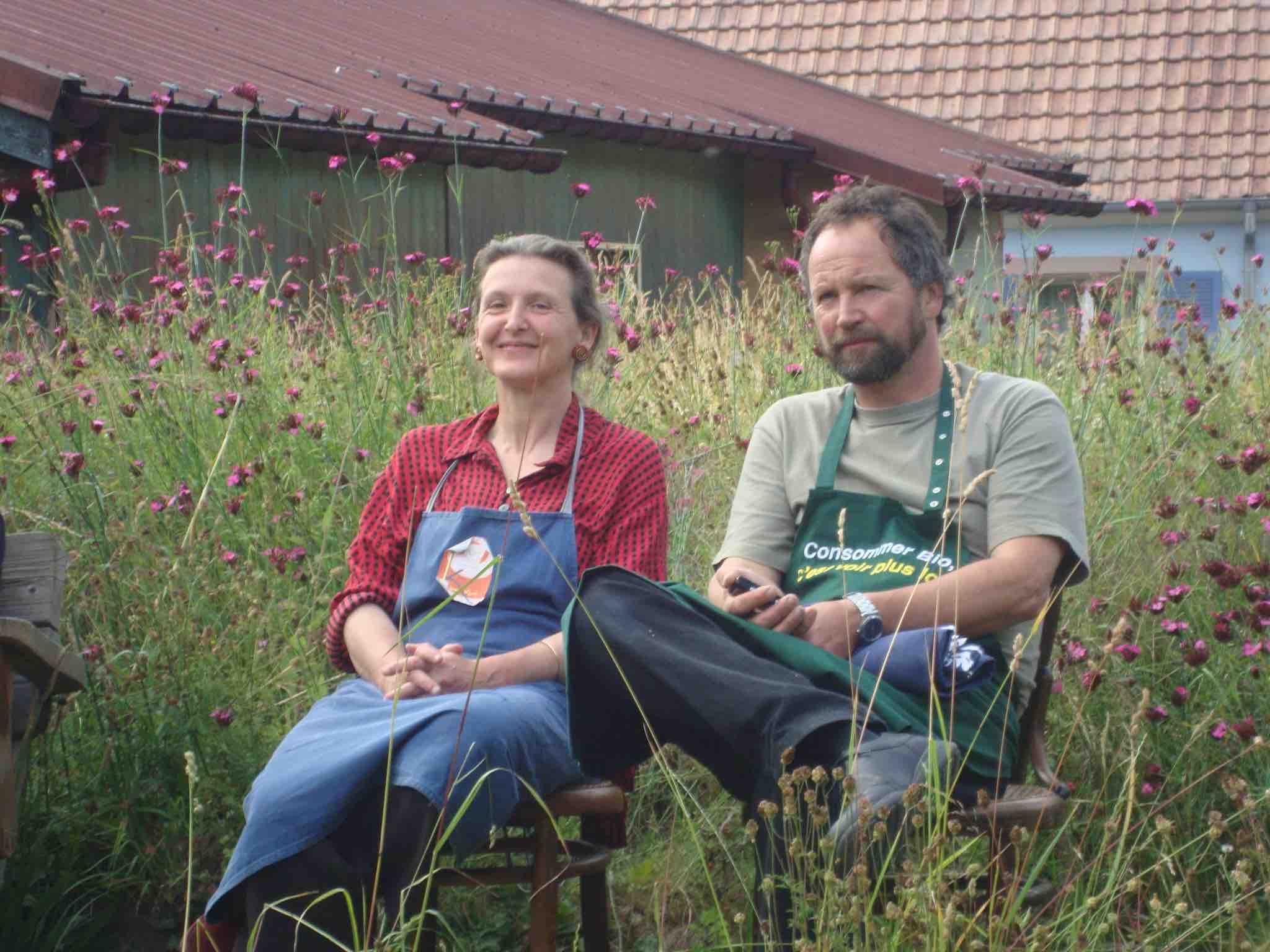 Portraits de jardiniers