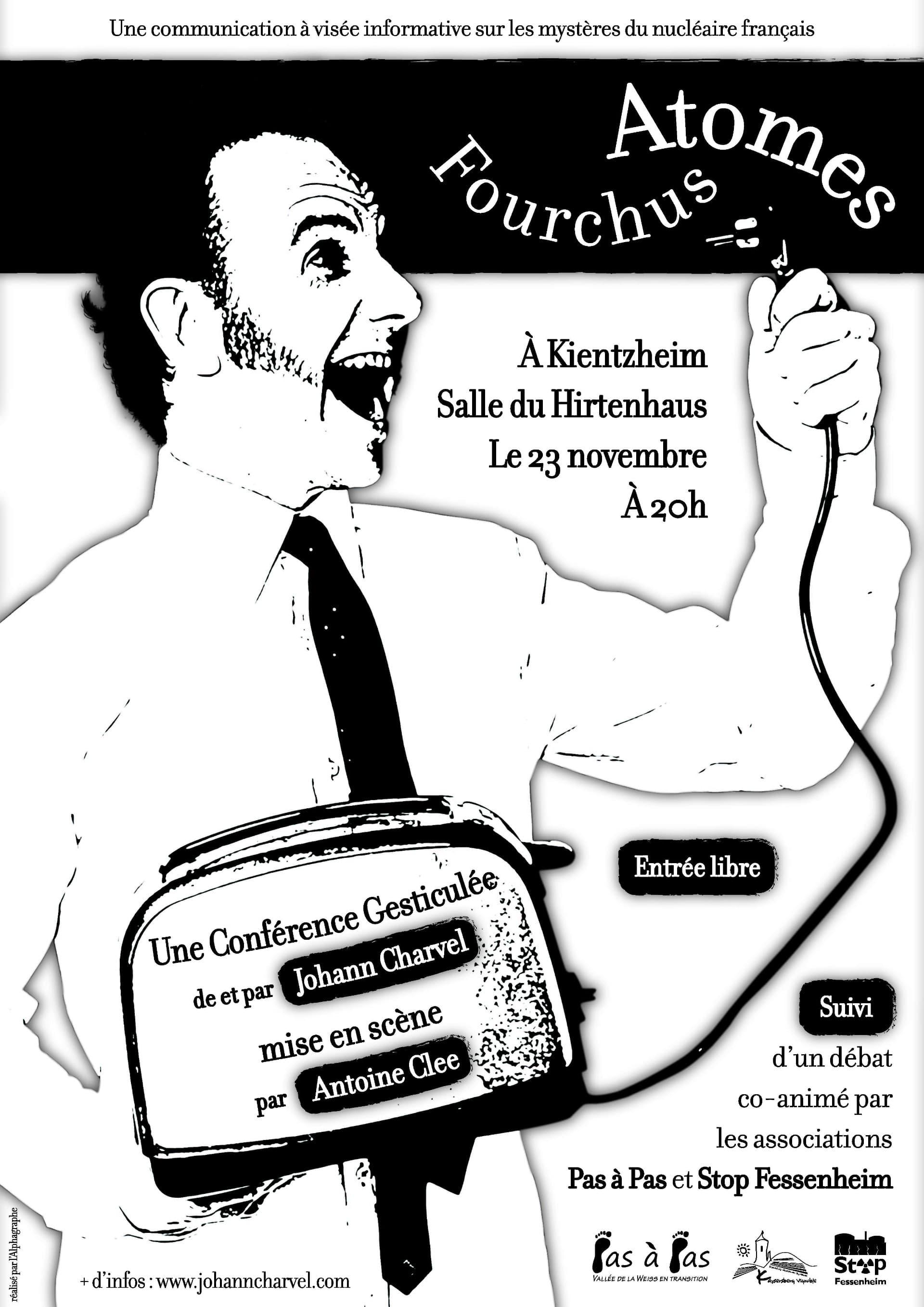 Affiche Conférence gesticulée